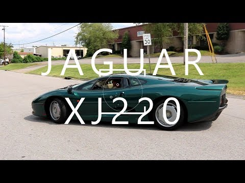 THE XJ220, JAGUAR BUILDS THE WORLD'S FASTEST PRODUCTION CAR