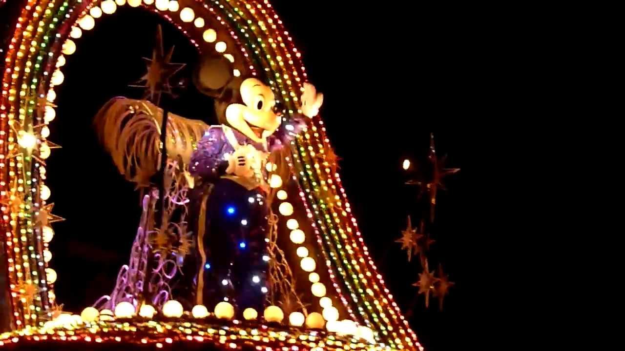 Disneyland Paris at Night Disneyland Paris Night Parade