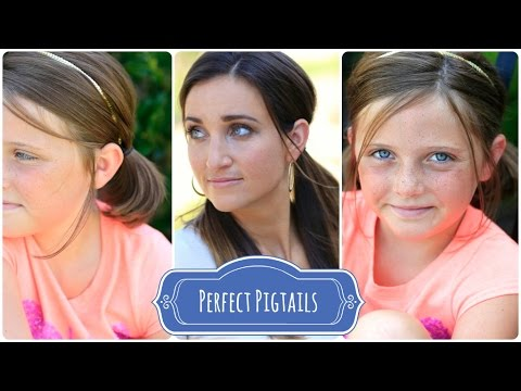 How to Create Perfect Pigtails | Back-to-School Hairstyles
