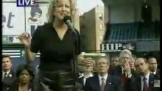 Bette Midler Wind Beneath My Wings Yankee Stadium 2001