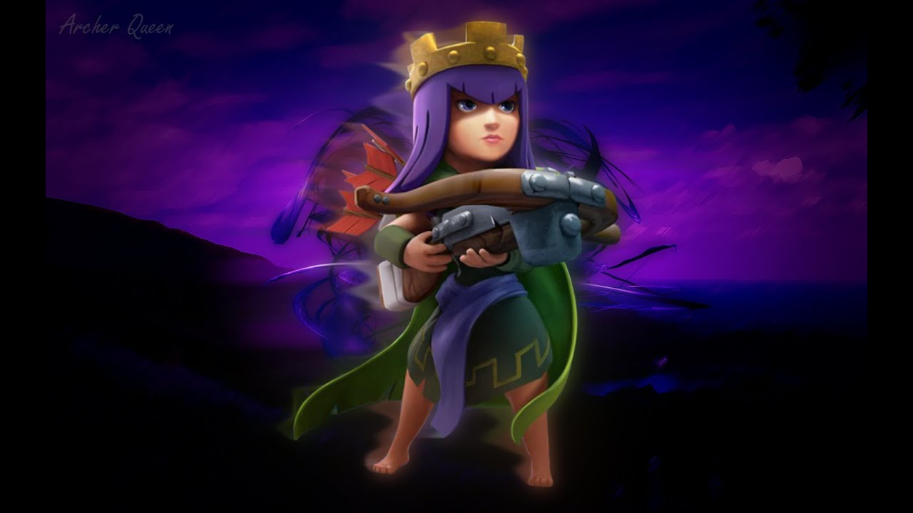 Archer Clash of Clans Drawing Clash of Clans Archer Queen