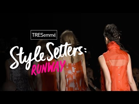 Hair Styles at Feb 2015 NY Fashion Week  | TRESemmé Style Setters