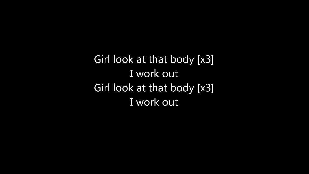 Sexy and you know it lyrics