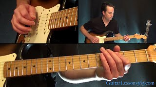 Uptown Funk Guitar Lesson - Mark Ronson (feat.) Bruno Mars