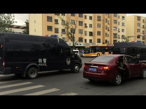 Dozens killed by blast In China's Xinjiang region