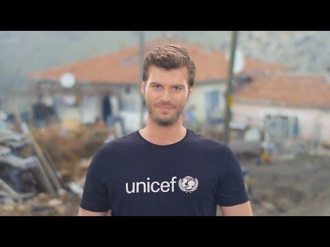 UNICEF İyi Niyet Elçisi Kıvanç Tatlıtuğ'un çağrısı: UNICEF Türkiye Milli Komitesi'ne katılın