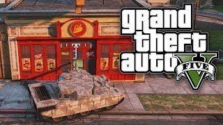 GTA 5 THUG LIFE #33 - ROBBING A STORE WITH A TANK! (GTA V Online)