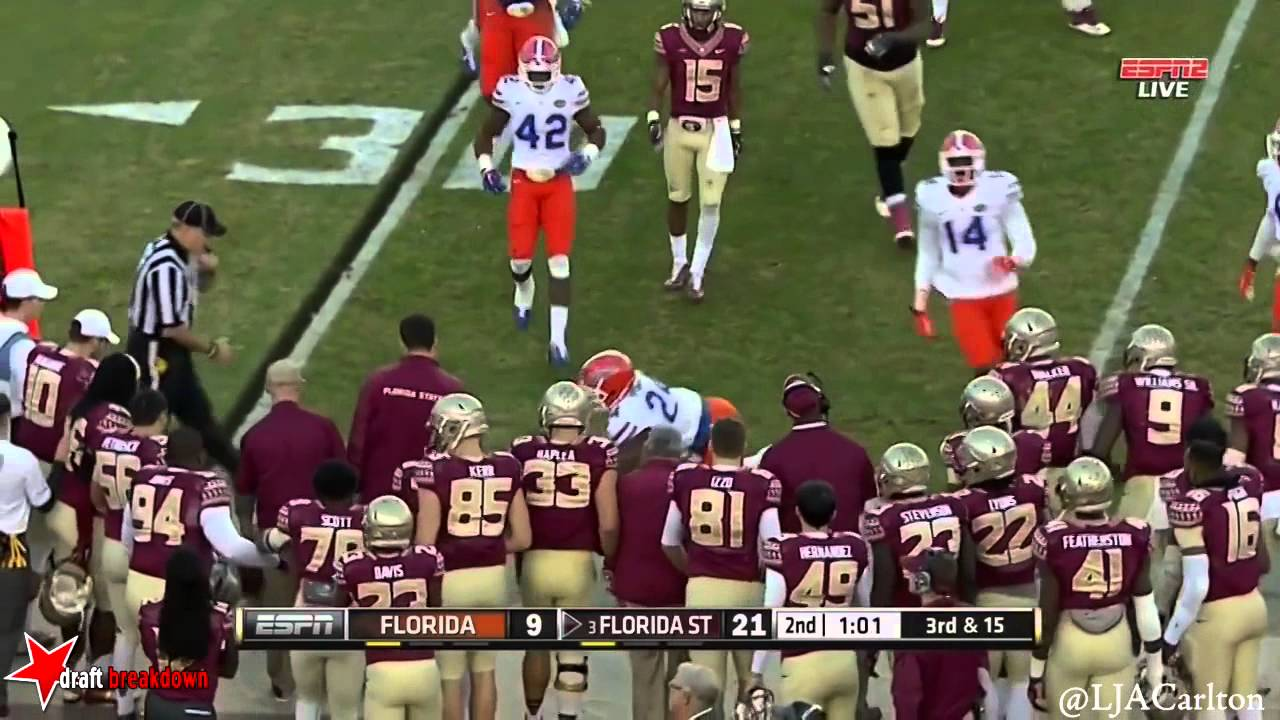 Dante Fowler Jr. vs Florida State (2014)