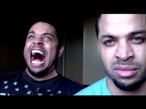 Kid Believes He's From Dragonball Z And Tries To Go Super-saiyan On Camera! hodgetwins video