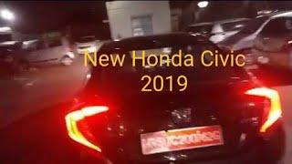 Honda Civic Night Vlog   |  2019 India