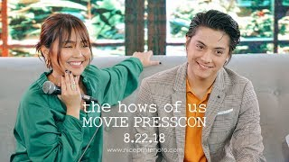 "Kathryn Bernardo and Daniel Padilla ""The Hows of Us"" Movie Media Day Video by Nice Print Photography"