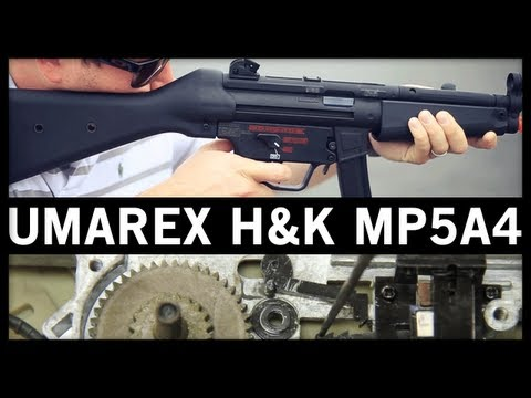 Airsoft GI - Umarex H&K MP5A4 by VFC Gun Review and Internal Gearbox Examination