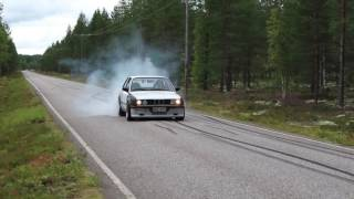 e30 the ONE burnouts with eBay turbo