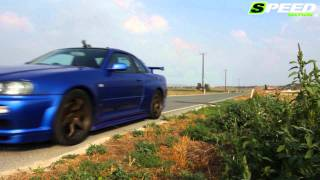Nissan Skyline R34 GTR x2 400 & 650Ps