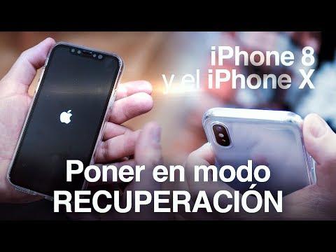 Cómo poner el iPhone 8 y el iPhone X en modo recuperación o hard reset