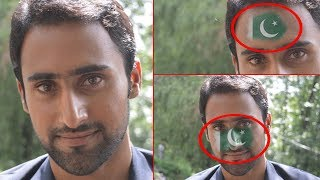 How To Paint Flag on Face in Photoshop Urdu/Hindi Tutorial