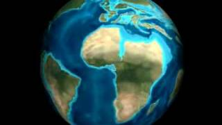 Science on a Sphere - Plate Tectonics and Paleo Animation.flv