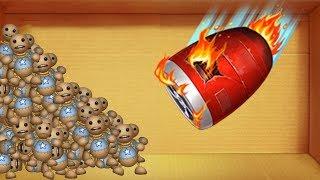 The buddy Baby Born vs Turbine Planes   Kick The Buddy Game anti stress