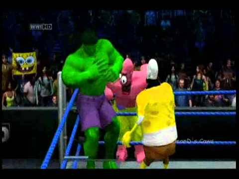 DeZmonD's Caws SVR11 - Bikini Bottom Bad Boys vs Avengers