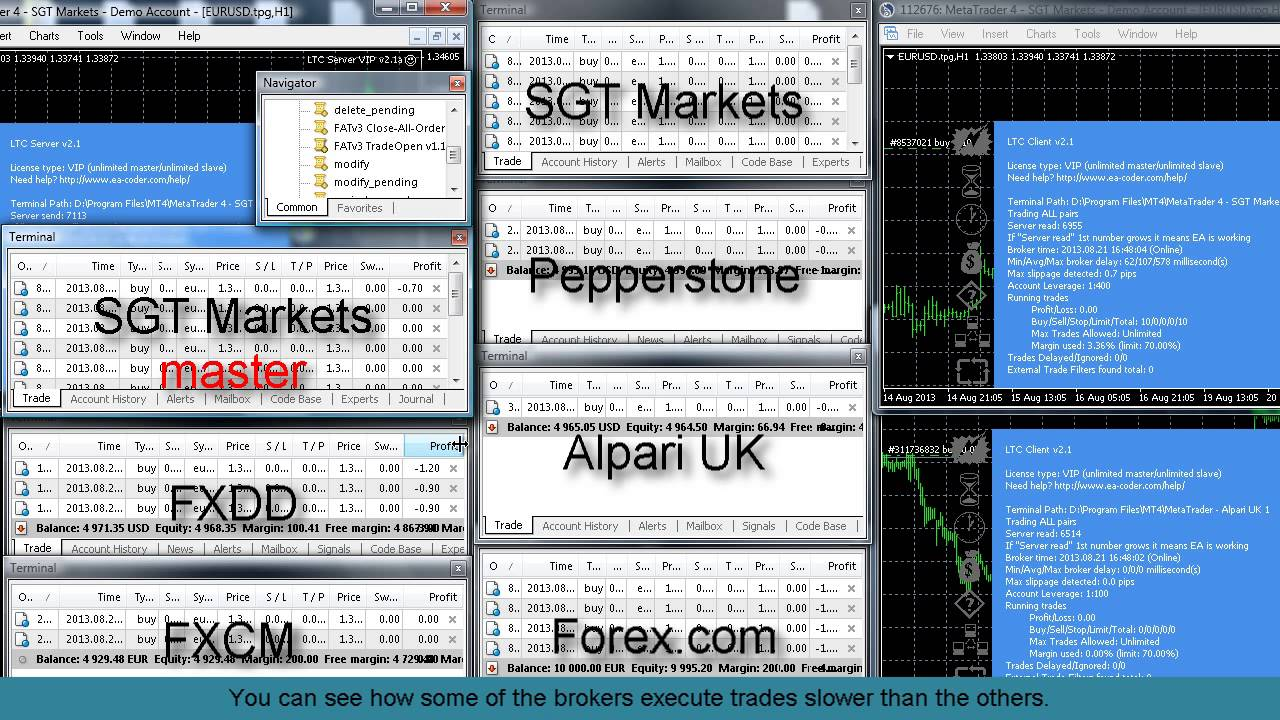 Binary option website design