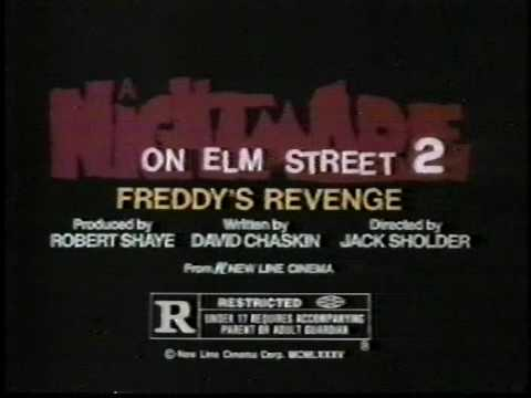Nightmare on Elm Street 2 TV spot