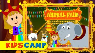 The Animal Fair | Nursery Rhymes | Popular Nursery Rhymes by KidsCamp