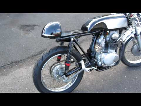 honda cl350 cb350 cafe racer start/running video-bike for sale $2800
