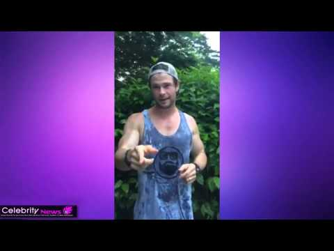 Chris Hemsworth - Ice Bucket Challenge, Jeremy Renner, Mark Ruffalo and Chris Evans