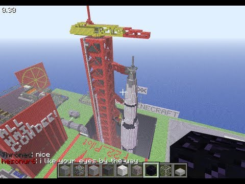 Minecraft rockets