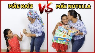 MÃE NUTELLA VS MÃE RAÍZ + ERROS DE GRAVAÇÃO