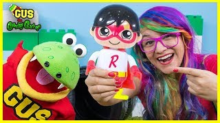 Ryan ToysReview Ryan's World Surprise Toys Hunt with Squishy toy and mystery blind bag!!!