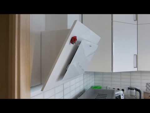 Вытяжка для кухни. Кухонная вытяжка. Монтаж воздуховода.