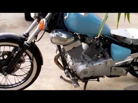 Yamaha Virago 250 bobber