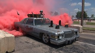WTF Zombie Sled Burnout - Happy Halloween!