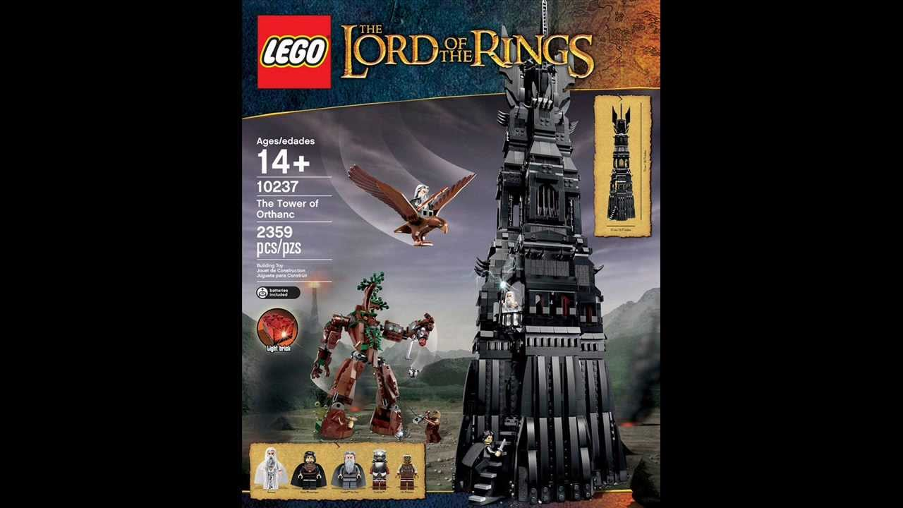 Tower of Sauron Lego Lego Lord of The Rings Tower