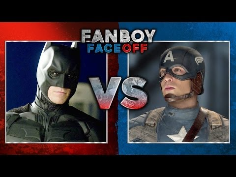 Batman vs Captain America: Fanboy Faceoff