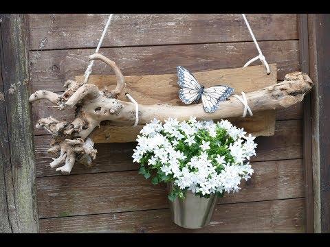DIY Outdoor Blumendeko – Floristik im Außenbereich – Terrassendekoration – Gartendeko