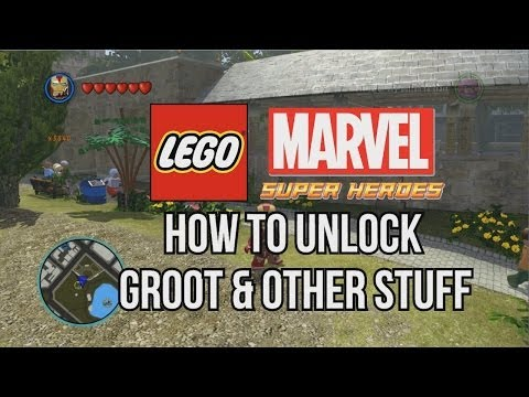 How to Unlock Groot - LEGO Marvel Super Heroes