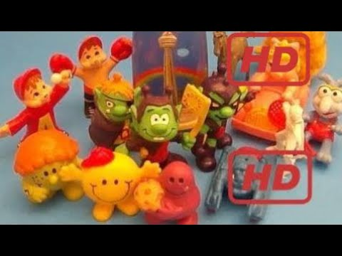 New 16 Funny Eggs Surprise Vintage Opening Game! Dolls, Mr.men, Garfield, The Definition, Chipons