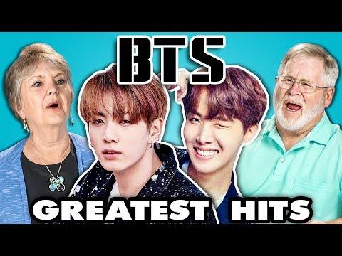 Elders Read K-Pop Band BTS' Hit Songs (React)