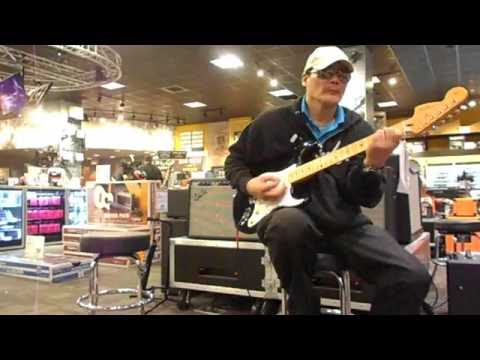 """Playing Jazz & ""House Of The Rising Sun"" On Jimi Hendrix Strat At G.C.#3"" July 21, 2016 - Big Will"