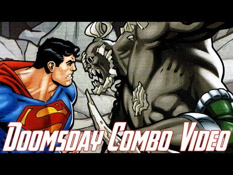 Injustice Gods Among Us - Doomsday Combo Video Gameplay