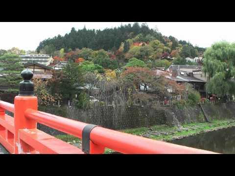 秋の高山 ~古い町並み~