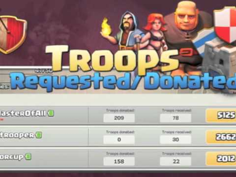 Clash of clans update preview 2 troops requested
