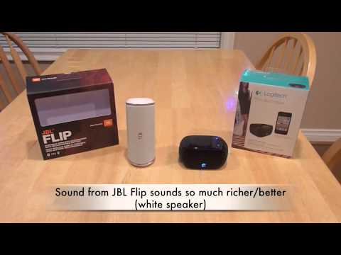 JBL Flip Speaker review - Bluetooth problems demo by KemptonTestLab