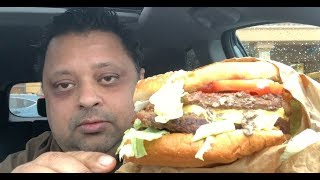 Eating Burger King's Triple Whopper with Cheese | Mukbang