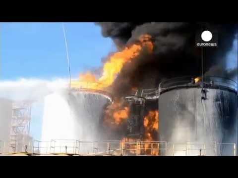 Incendie meurtrier dans un dépôt pétrolier en Ukraine