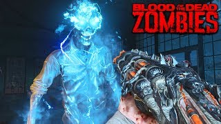 BLACK OPS 4 ZOMBIES: BLOOD OF THE DEAD MAIN EASTER EGG HUNT GAMEPLAY! (Call of Duty BO4 Zombies)