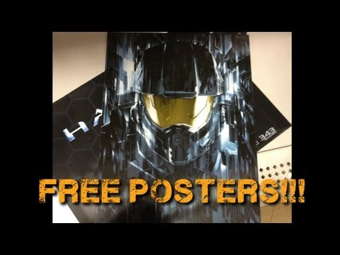 Halo 4 News - Free Pre-Order Posters!!