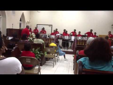 Salem Baptist Church Jamaica Steel Pan Ensemble.     Majesty